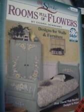 Rooms Full Of Flowers Donna Dewberry Painting Book Iris, Tulip, Wisteria, Rose,