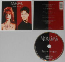 Niagara - Flammes de L'enfer - France cd, card cover