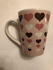 Hearts Valentines Mug 9 Ounces Ceramic