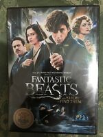 Fantastic Beasts and Where to Find Them (DVD, 2017, 2-Disc Set) Brand New.