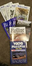 Collector magazines Volvo 444/544 lovers - 9 Rolling Plus 1 Combined '45 - '65