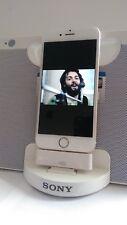 Lightning to 30 pin adapter for Sony RDP-M17iP speaker dock Apple Iphone 6 white