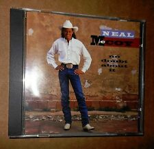 1994! Neal McCoy! No Doubt About It! 10 Songs! Contemporary Country! VG Cond!+NR
