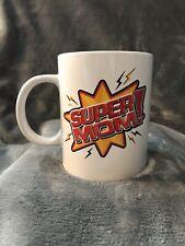 Royal Norfolk Super Mom Coffee Mug - Mother's Day Birthday Gift Collectible