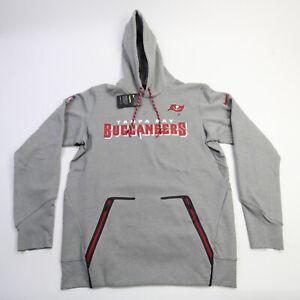 Tampa Bay Buccaneers Nike Dri-Fit Sweatshirt Men's Gray New with Tags