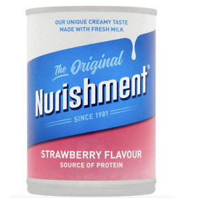 Nurishment The Original Strawberry Flavour 400g x 12  NEW WITH FREE Delivery