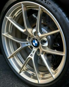"BMW OEM G11 G12 G14 G15 G16 7+8 Series Style 763M 20"" Y-Spoke Wheels Frozen Gold"