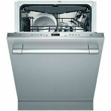 """Thermador Dwhd650Wfp 24"""" Fully Integrated Stainless Steel Dishwasher"""