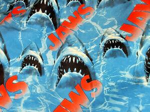 NEFF Men's JAWS Shark SWIM SHORTS SIZE MEDIUM HOT TUB SHORTS NEW WITH TAGS