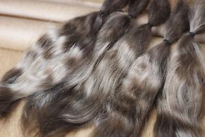 "Mohair Doll Hair color alder 8-11"" in 0.35 oz locks angora DIY baby reborn"