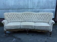 altes Sofa Stilmöbel Rokokostil Rokoko geschwungen gepolstert schlechter Zustand