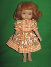 """Pumpkin Patch-Fall / Halloween  Dress- Made to fit 10"""" Ann Estelle Doll"""