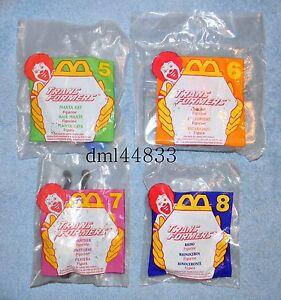 1996 McDonalds Transformers MIP Complete Set - Lot of 4, Boys & Girls, 3+