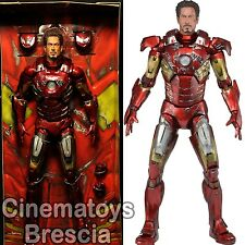 MARVEL The Avengers 1/4 Scale Action Figure Bataille endommagé Iron Man w/LED