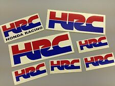7 Of HRC Honda Racing Stickers Cbr Fireblade New