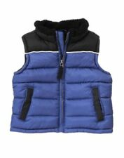 NWT GYMBOREE SNOWBOARD LEGEND BLUE PUFFY VEST 2T-3T