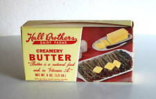 HALL Brothers Dairy Farm Butter Box Montgomery AL