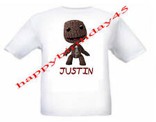 LITTLE BIG PLANET SACKBOY Personalizado Niños Camiseta