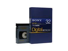 SONY BCT-D32 (small) DIGITAL BETACAM Profi Video Kassette NEU (world*) 000-335°