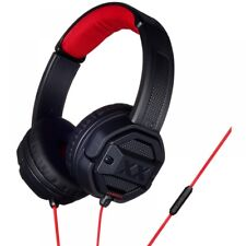 JVC HASR50XB Black Xplosives Remote Xtreme on Ear Headphones With Mic