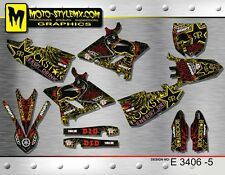 Yamaha YZ 125 & 250  2015 up to 2017 graphics decals kit stickers Moto StyleMX