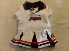 MLB Cleveland Indians Cheerleader Dress Sz 12M GUC