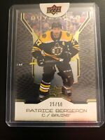 2019/20 UD Buybacks Patrice Bergeron Gold 25/50 Mint
