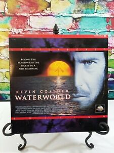Waterworld Letterbox Edition Laserdisc LD - 2-disc - Kevin Costner Dennis Hopper