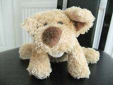 """8"""" MARKS & SPENCER M AND S PUPPY DOG TAKE ME HOME TAG SOFT CUDDLY TOY 9673 694"""