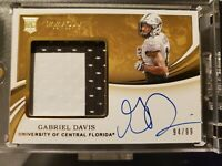 2020 Immaculate Collection Gabriel Davis Rookie Patch Auto /99 UCF