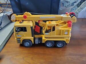 Bruder Man Tele Crane TC-4500 TGA 41.440 Construction building Toy GERMANY