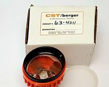 New CST Berger 63-4011 Orange Center LED Lighted Prism