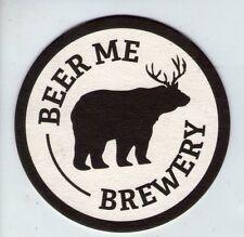 UNUSED BEERMAT - BEER ME BREWERY - (Cat 001) - (2014)
