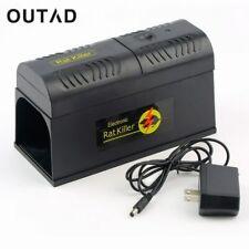Rat Trap High Voltage Mouse Killer Electronic Shock Rodent Zapper Pest Control