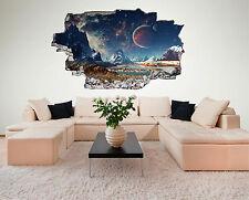 Weltraum Weltall Galaxy Basis Planeten Wandtattoo XXL Wandsticker Aufkleber C230