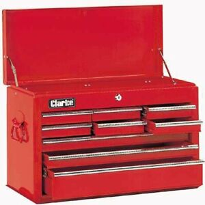 NEW CLARKE 9 DRAWER BALL BEARING TOOL CHEST TOOL BOX 4 TOOL CABINET