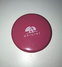 Origins Cosmetics Pink Neon Purse Makeup Bag Compact Dual Mirror Brand New