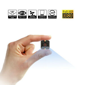 Mini Kamera Wireless 1080P Überwachungkamera Mikro Nanny Cam Nachtsicht+SD Karte