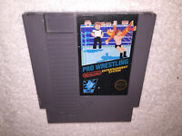 Pro Wrestling - 3 Screw (Nintendo Entertainment System, 1987) NES Game Nice!