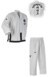 adidas ITF Black Belt Champion Dobok ADITITF02, Instructor Taekwondo Anzug