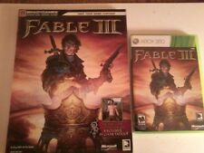 Fable III (Microsoft Xbox 360, 2010) + strategy guide