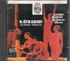 """ALFREDO TISOCCO - RARO CD FUORI CATALOGO 1991 """" KATHARSIS """""""