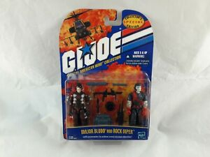 GI Joe American Hero Collection Major Bludd and Rock Viper figures