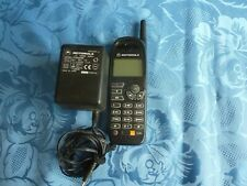 Motorola M3788e Mobile Phone with Charger Orange Network