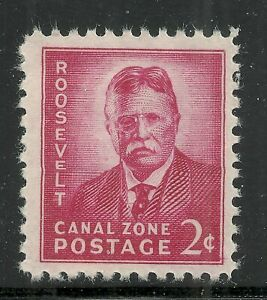 U.S. Possession Canal Zone stamp scott 138a - 2 cents issue of 1949 - mlh  x