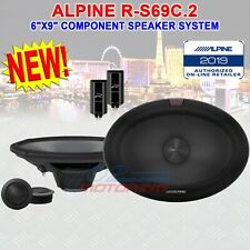 "ALPINE R-S69C.2 6""x9"" R-SERIES COMPONENT SPEAKER SYSTEM 300W PEAK POWER CLASS D"