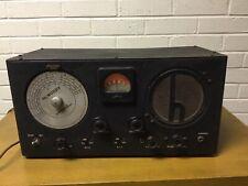 Vintage Hallicrafterrs Sky Buddy Tube Ham Short Wave Radio Receiver Antique