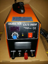 Plasma Cutter CUT50DF Pilot Arc 110V-220V Includes 18 Consumables New 2019 Pilot