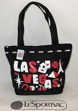 NWT LeSportsac SMALL HAILEY TOTE Bag Exclusive Las Vegas Black 2659 K483