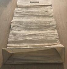 "IKEA Orgel Tall 41.5"" Floor Lamp Natural Paper Shade"